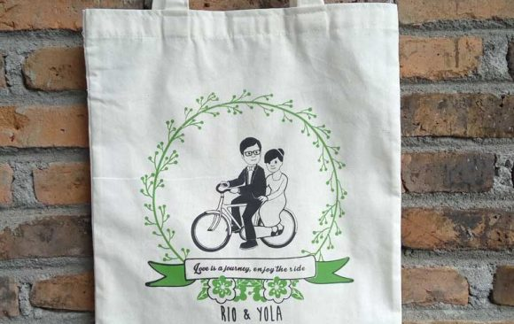 Tote Bag Blacu Souvenir